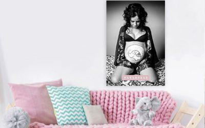 Belly-painting-foto-print-para-ideas-de-decoracion-para-bebes